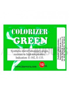 Colorante Verde 10ml Inawera