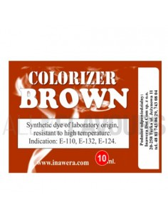 Colorante Marrón 10ml Inawera