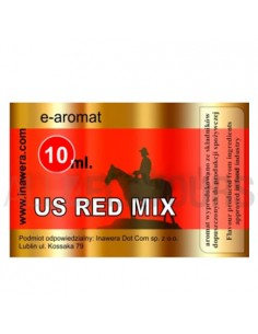 US Red Mix Aromat 10ml Inawera