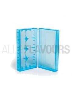 Caja Batería 18650 Azul
