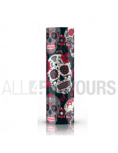 Wrap Batería 18650 Skull