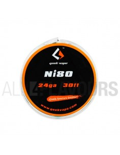 Hilo Resistivo Ni80 24 Ga...
