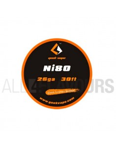 Hilo Resistivo Ni80 26Ga...