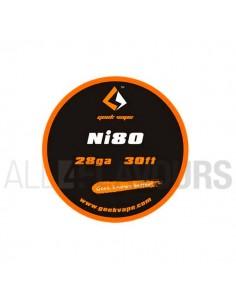Hilo Resistivo Ni80 28Ga...
