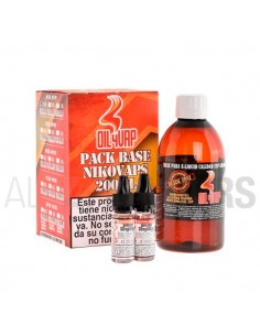Pack Base + Nicovaps 200 ml...