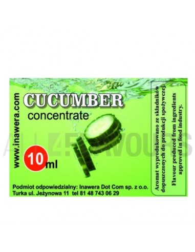 Cucumber Concentrate 10ml Inawera