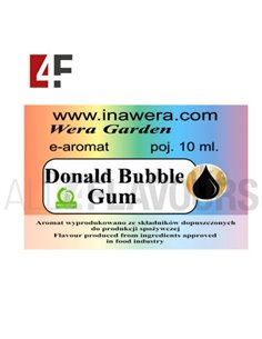 Donal Bubble Gum 10 ml- Inawera