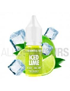 líquidos sales nicotina Iced Lime Essential Vape 10 ml 10/20 MG  Bombo