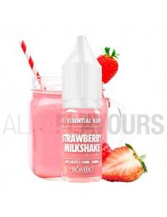 líquidos sales nicotina Strawberry Milkshake Essential Vape 10 ml 10/20 MG  Bombo