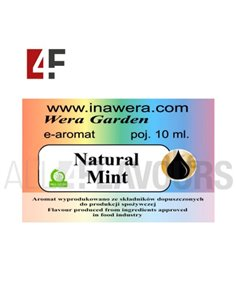 Natural Mint 10 ml- Inawera