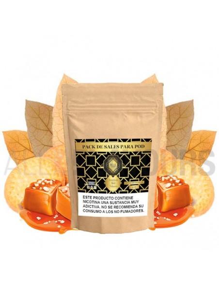 Exquisito blend de hojas de tabaco americanas con una suave base de galleta tipo graham cracker americana