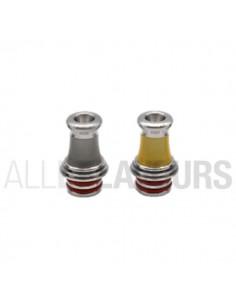 Drip tip 510 MTL F Silver...