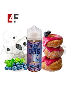 Frosted Donut Cereal Blueberry 100ml TPD-The One