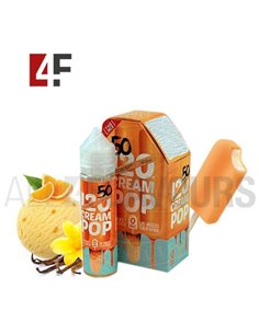 Cream Pop 120  50ml TPD-Mad Hatter
