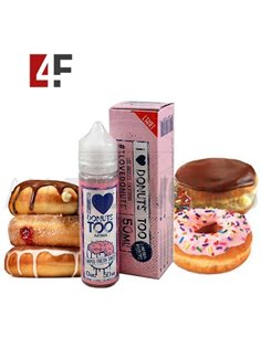 I Love Donuts Too 50ml TPD-Mad Hatter