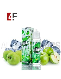Apple Ice Sour Straw 50ml TPD-Bazooka