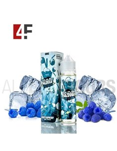 Blue Raspberry Ice Sour Straw 50ml TPD-Bazooka