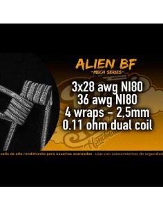 Resistencia Alien BF-Dapicoils
