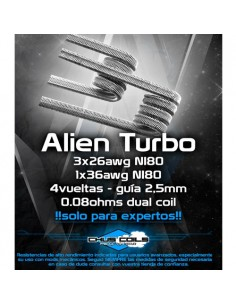 Resistencias Alien Turbo...