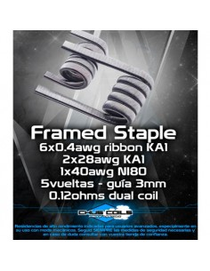 Resistencias Framed Staple...