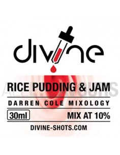Rice pudding 30 ml Divine...