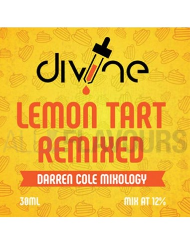 Lemon Tart Remixed 30 ml Divine Shots