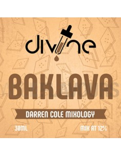 Baklava 30 ml Divine Shots