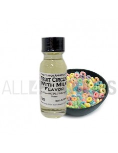 Fruit Circles Milk 15-30 ml- Tpa
